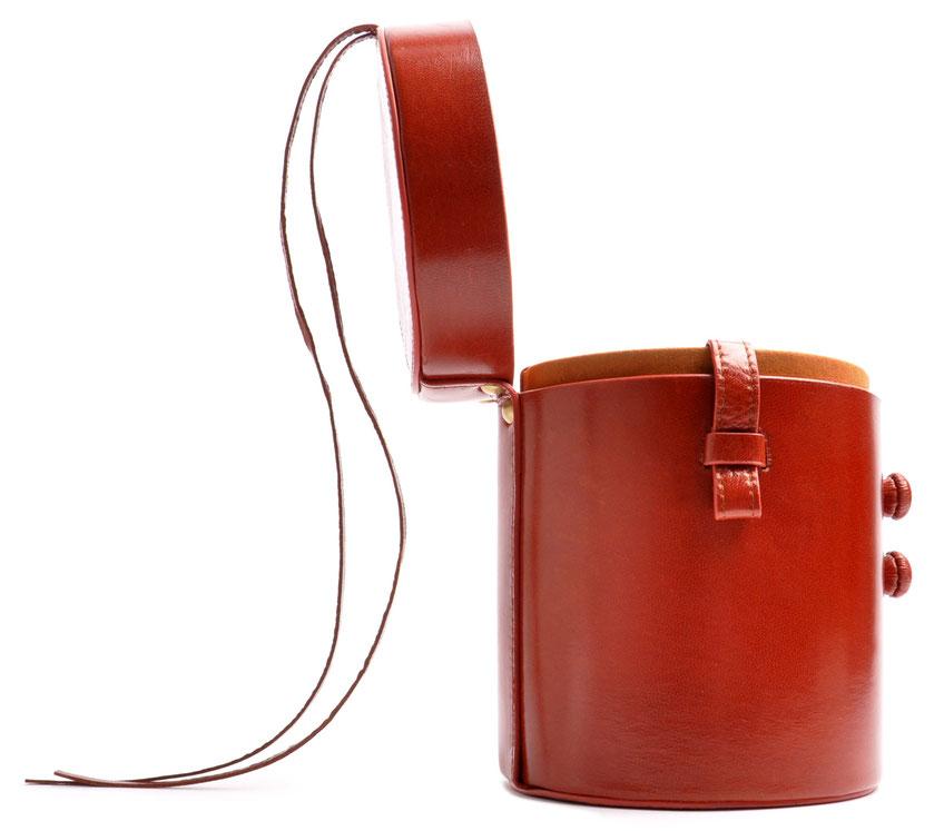 Crossover  Tasche MARIE Leder cognac OSTWALD Traditional Craft