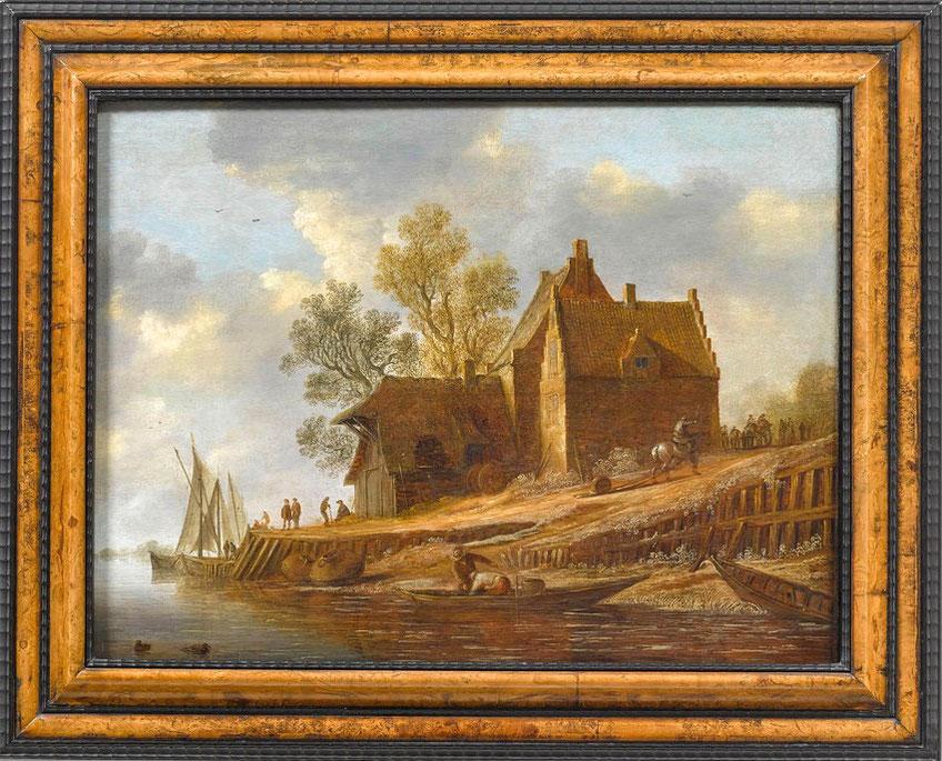 te_koop_aangeboden_een_schilderij_kunstwerk_van_de_nederlandse_kunstschilder_pieter_pietersz._de_neyn_1597-1638_gouden_17e_eeuw