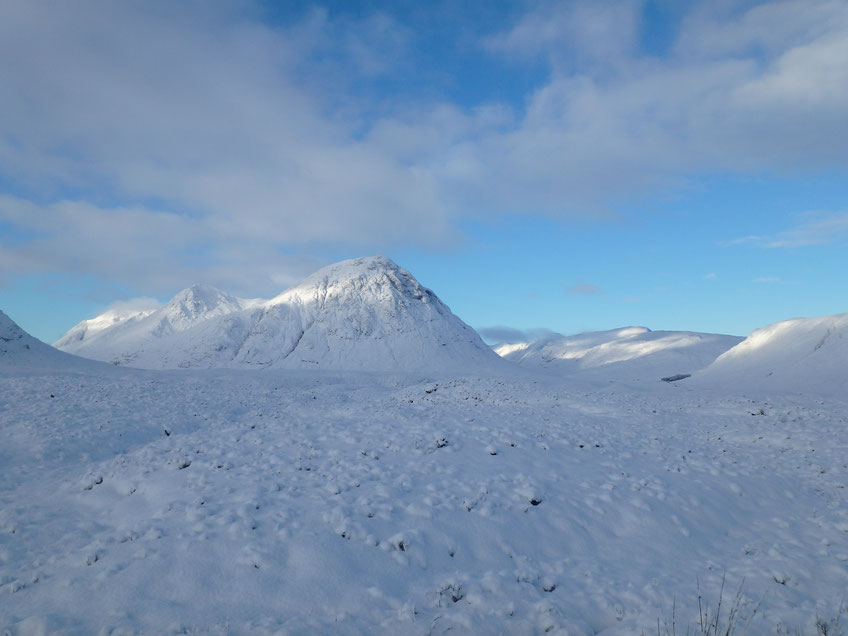 Glen Coe, West Highland Way in December