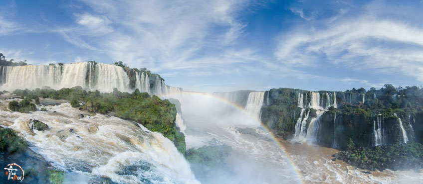 Brasilien - Motorrad - Reise - Worldtrip - Motorcycle - Südamerika - South america - Iguazu Wasserfälle vom Garganta do Diablo - dem Teufelsschlund.