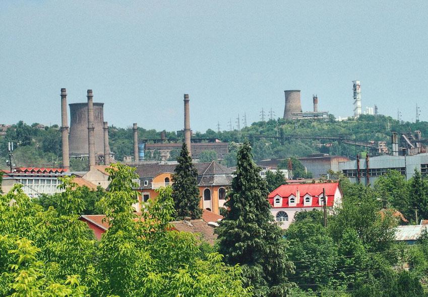 Reschitz - Ehemaliges Zentrum der Schwerindustrie