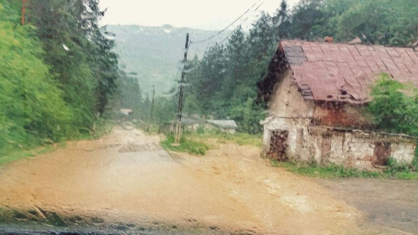 Wasserstraße im Banater Gebirge