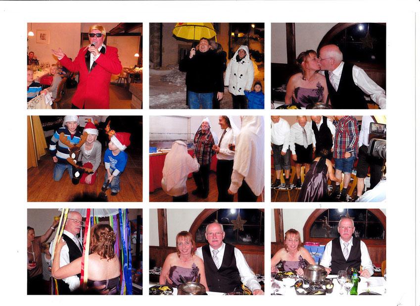 Impressionen der Hochzeit Weber Kurt und Claudia, Trimbach SO