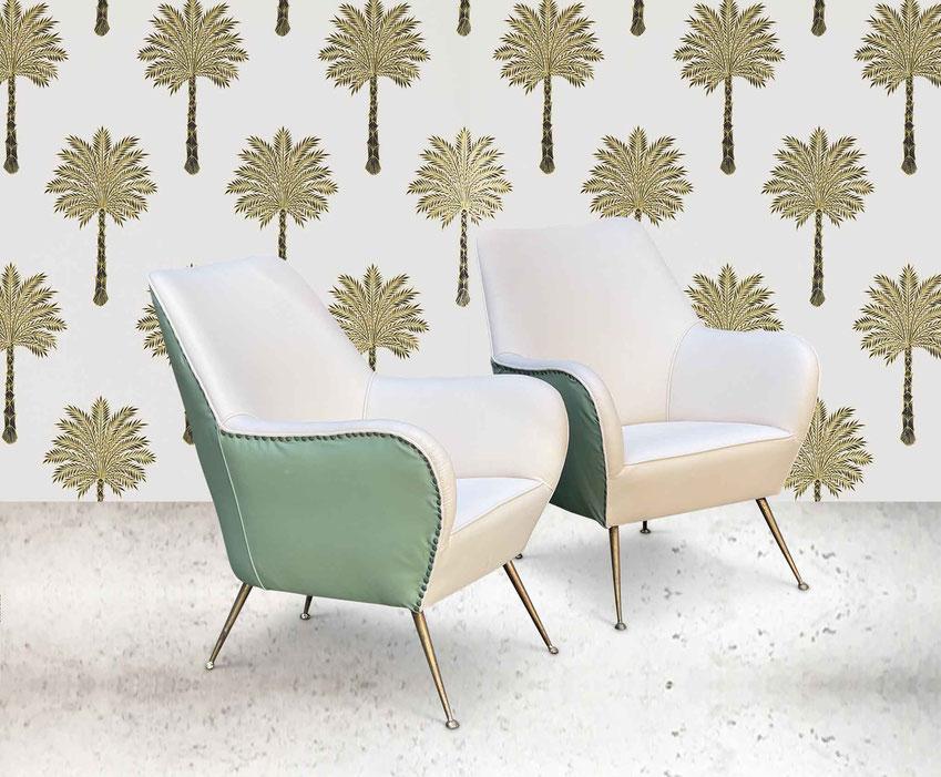 vintage midcentury italian chair