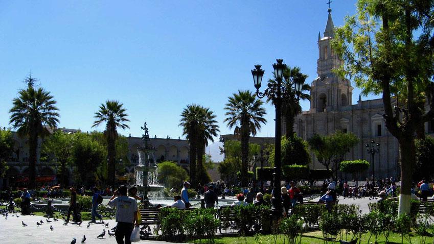 Arequipa in Peru: Ein Reisebericht mit Sehenswürdigkeiten. Peru Urlaub Tipps.
