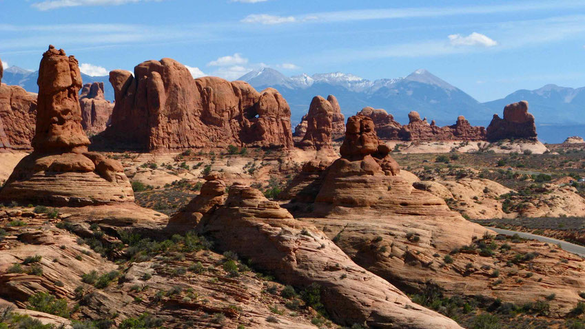 Der Arches Nationalpark im Westen der USA