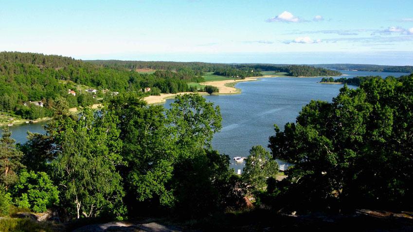 Schweden, Ost Küste: Urlaub mit dem Wohnmobil. Kalmar bis Stockholm.
