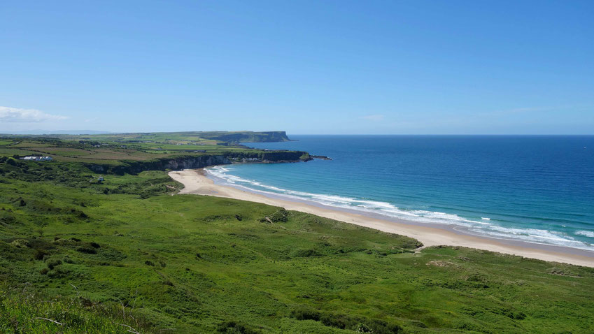 Nordirland Reise: Giant's Causeway, Ballintoy, Carrick-a-Rede, wandern, Causeway Coastal Route