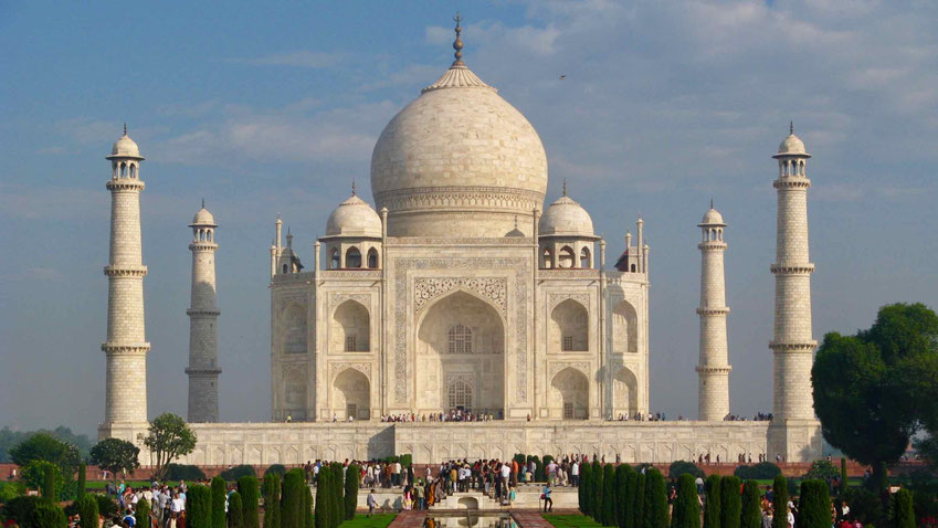 Indien Reise: Agra, Taj Mahal