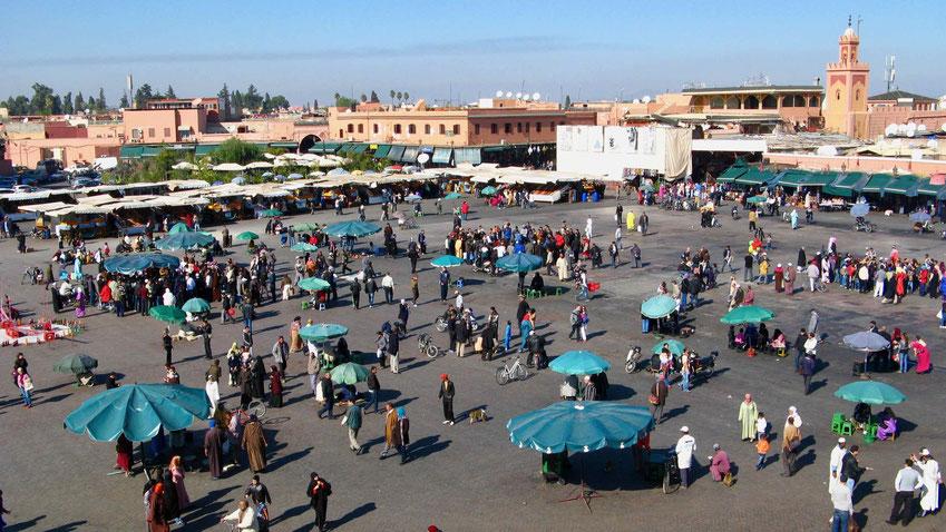 Marrakesch: Sehenswürdigkeiten und Geheimtipps, Marokko Reise.