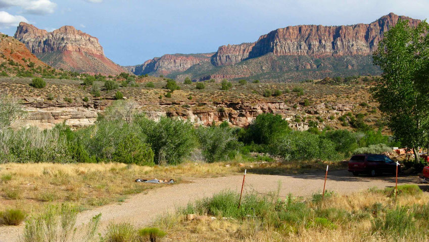 Reiseberichte USA: Der Zion National Park mit Kolob Canyons, USA Rundreise.