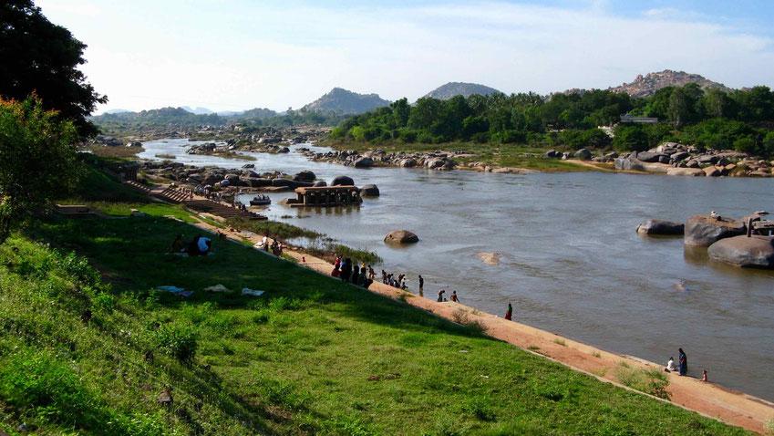 Indien Reise: Mit dem Zug nach Hampi, Karnataka