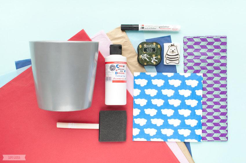 DIY decora tus macetas by Sami Garra
