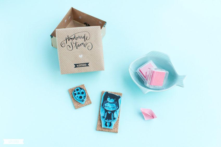 Handmade Stamps by Sami Garra