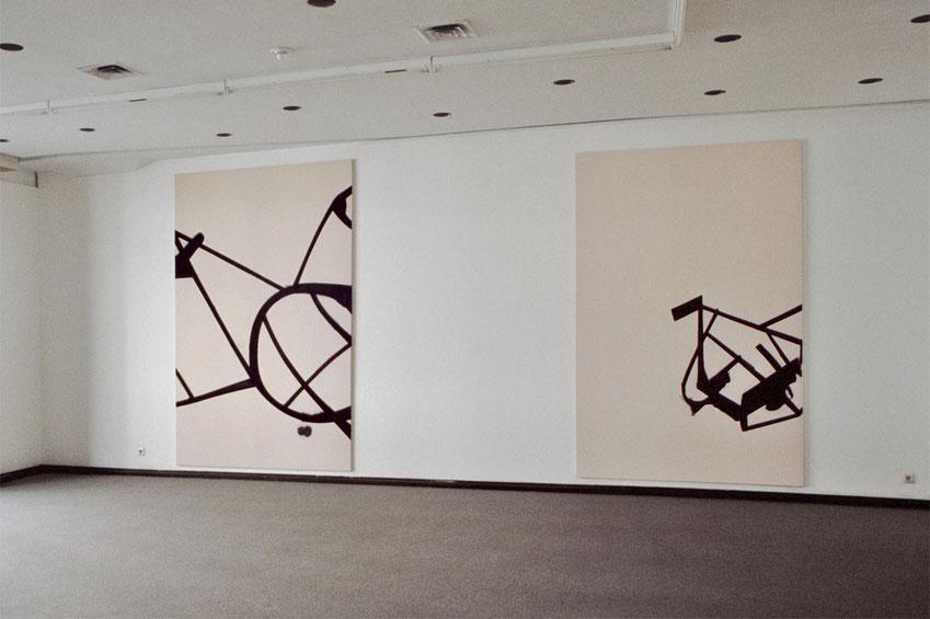 Heiner Blumenthal l 1991  l  Düsseldorfer Kunsthalle