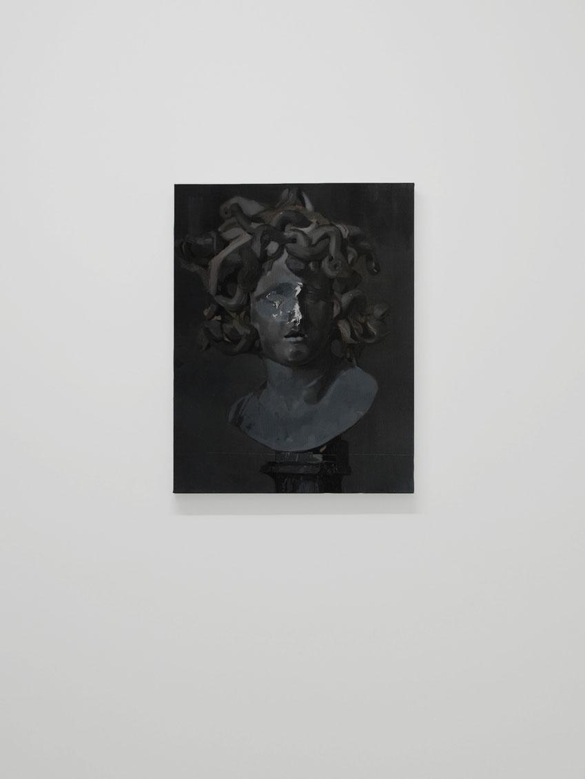 Facio Factum est. Oil on linen. 60 x 46 cm. 2017