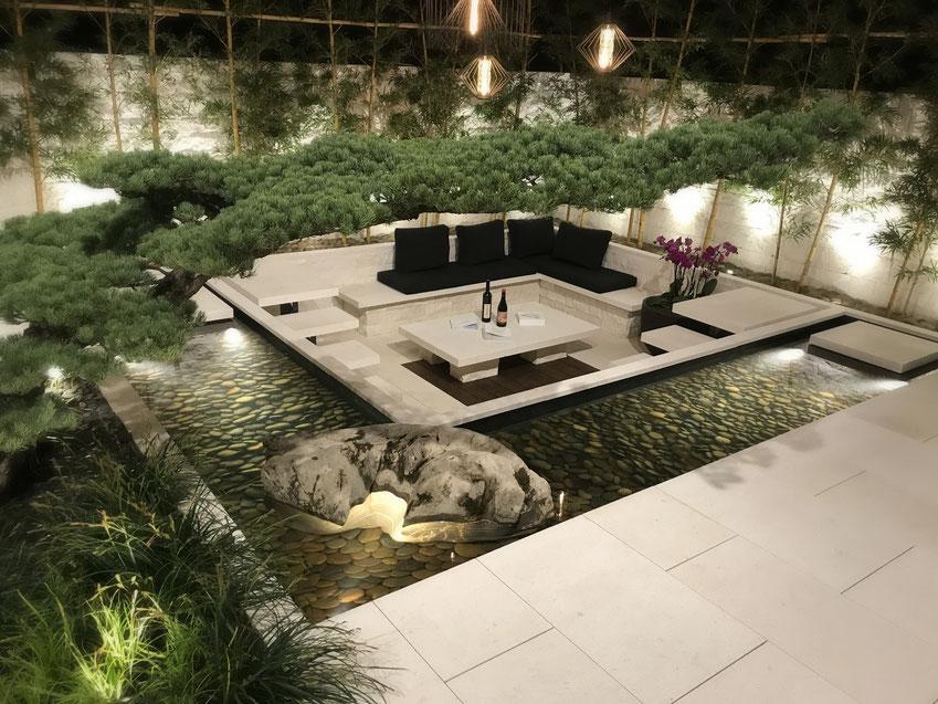 Die Giardina in Zürich widmet sich ganz der Gartengestaltung im Privatgartenbereich, nur 10% der Anbieter kommen aus Deutschland