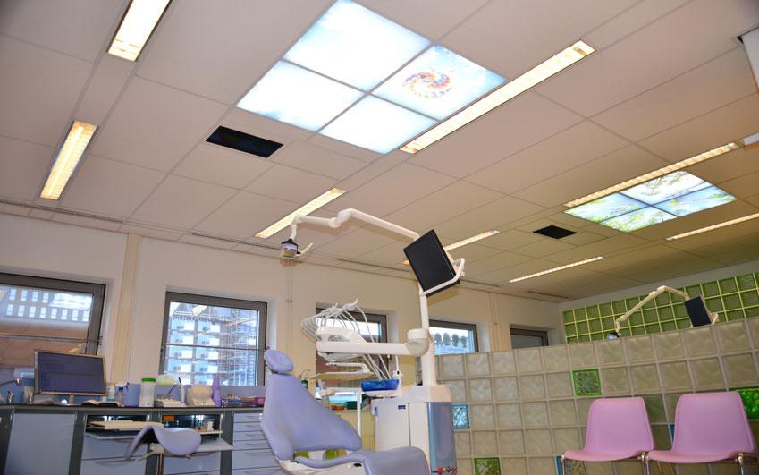 praktijkruimte van tandarts Tazi in Amsterdam-Noord