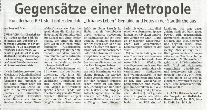 Offenbach Post vom 11.05.2017