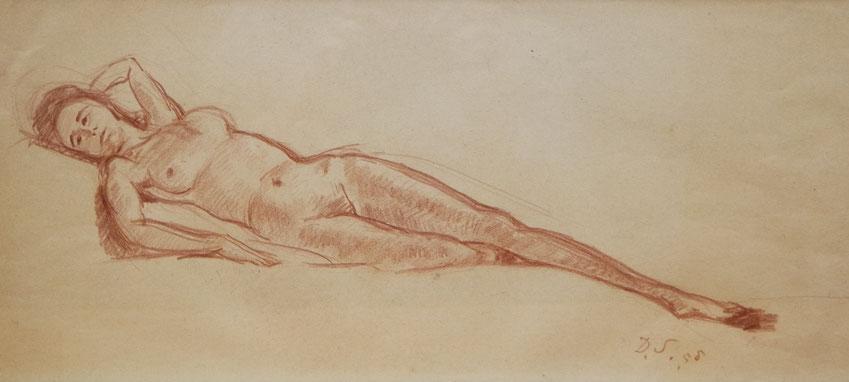 te_koop_aangeboden_een_rood_krijttekening_van_de_nederlandse_kunstenaar_dirk_smorenberg_1883-1960