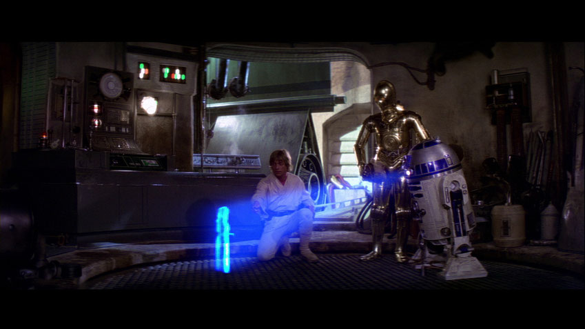 STAR WARS IV - Eine neue Hoffnung - Lucasfilm - Disney - kulturmaterial
