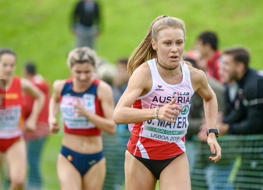 Crosslauf Europameisterschaft Crosseuropameisterschaft Lisboa Portugal Julia Mayer Yasemin Can Anna Möller platz 22 beste Österreicherin Austria Austrian athletics