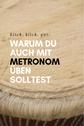 Metronom üben Musik