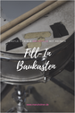 Schlagzeugnoten Fill-Ins