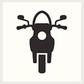 Mobiele scooter reparatie: lekke band plakken of repareren
