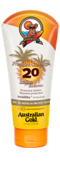 Premium Coverage Lotion SPF Outdoor Australian Gold Zonnebank creme bronzer zoncosmetica DHA cosmetisch natuurlijk