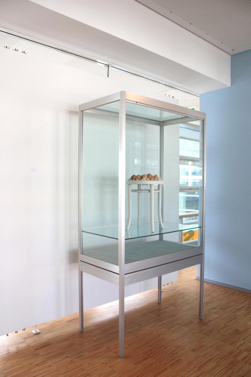 Ausstellungsansicht, Sein.Schein.Mein, Galerie der Landhausbrücke St.Pölten, 2012
