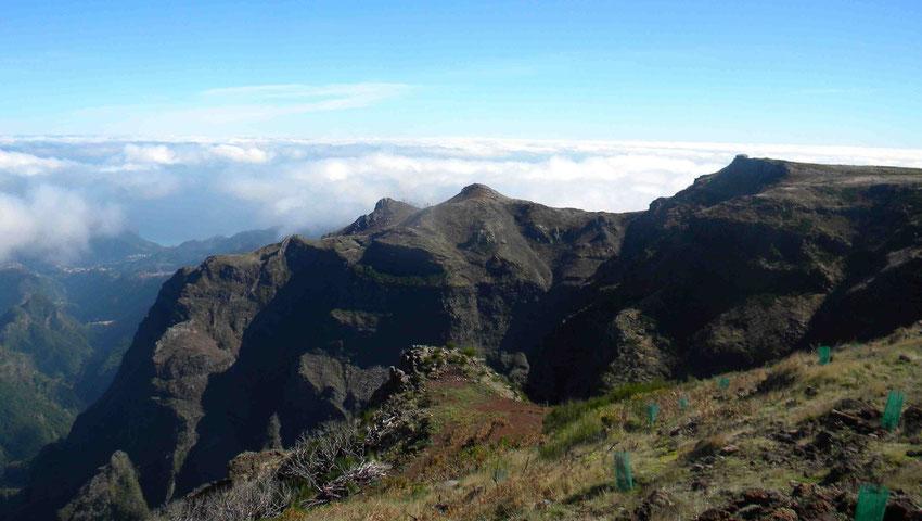Blick vom Pico de Arieiro