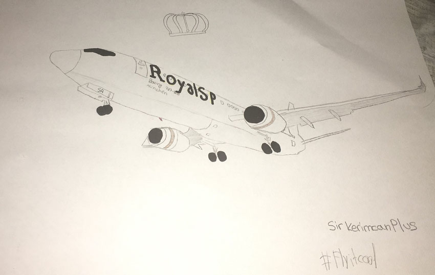 "Airbus Boeing Planedrawing ""Plane Drawing"" RoyalSirPlus RSP RoyalSP ""Royal SP"" ""Aviation Alliance"" ""Aviation Community"" ""Aviation and Lifestyle"" ""Aviation & Lifestyle"" ""virtual Airline"" B737 737"