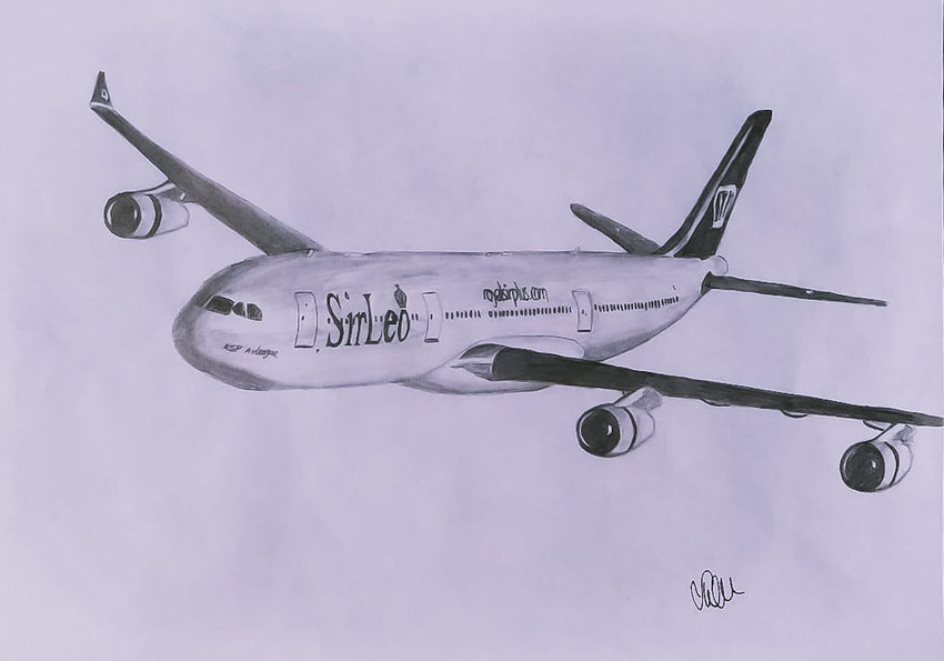 "Airbus Boeing Planedrawing ""Plane Drawing"" RoyalSirPlus RSP RoyalSP ""Royal SP"" ""Aviation Alliance"" ""Aviation Community"" ""Aviation and Lifestyle"" ""Aviation & Lifestyle"" SirLeo ""Sir Leo"" Leonardo ""Sir Leonardo"" ""VCEO Leo"" ""VCEO SirLeo"" A340 A343 A340300"