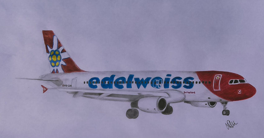 """Airbus Boeing Planedrawing """"Plane Drawing"""" RoyalSirPlus RSP RoyalSP """"Royal SP"""" """"Aviation Alliance"""" """"Aviation Community"""" """"Aviation and Lifestyle"""" """"Aviation & Lifestyle"""" Edelweiss A320 320"""