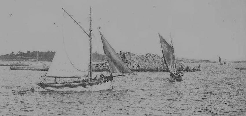 Départ des grands homardiers de Loguivy vers les côtes anglaises