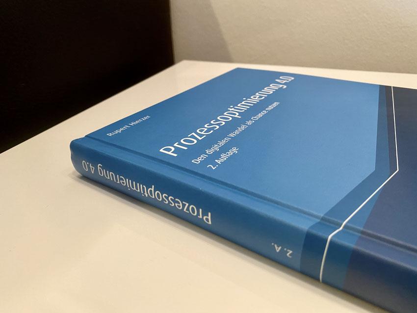 Buch zu Prozessoptimierung 4.0