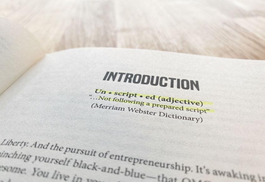 Definition aus dem Buch Unscripted von MJ DeMarco
