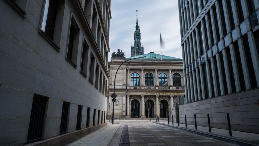 Portal der Handelskammer Hamburg