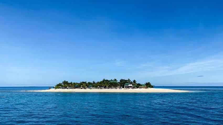 Kleine Trauminsel in Fidschi