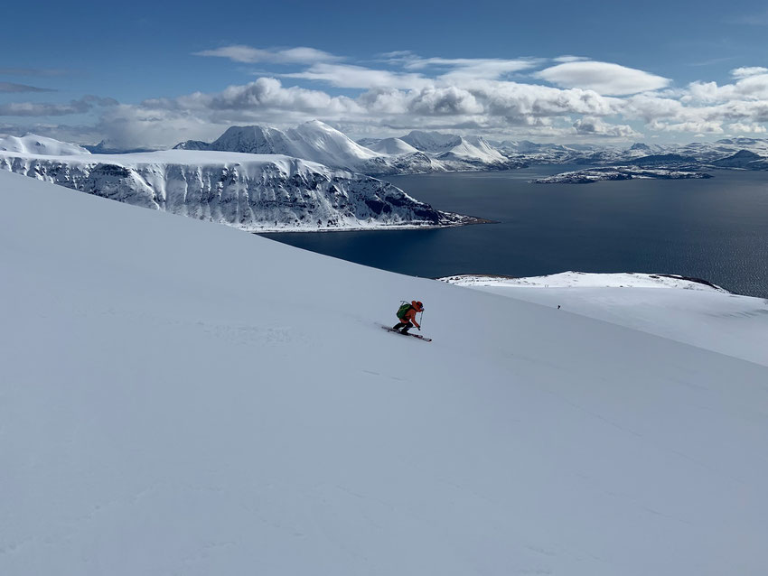Skitouren in der Finnmark Norwegen