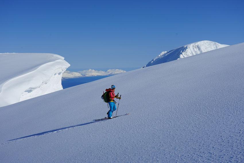 Skitouren Norwegen in den Lyngen Alps / Djupvik