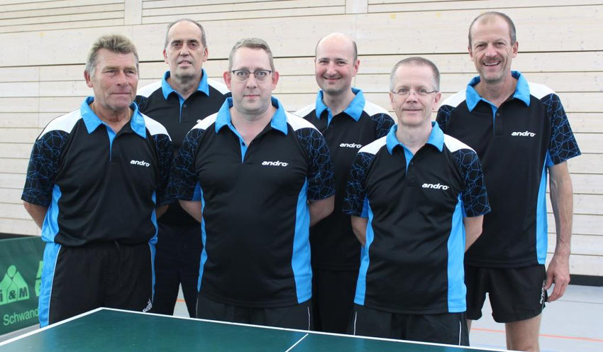 v.l.n.r.: Heinz Burggraf, Karl-Heinz Weniger, Stefan Seebauer, Helmut Meier, Gerd Stopfer, Frank Oberhansl