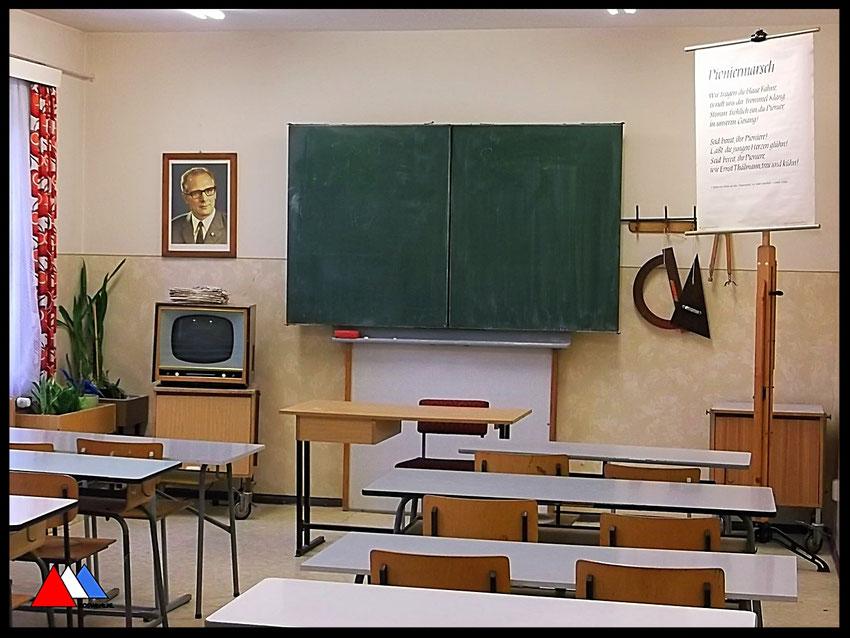 School museum Leipzig indrukken jaren 1970  -  1980  foto auteur.