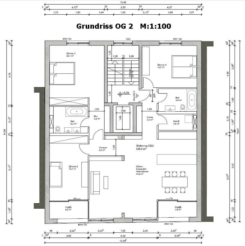 Wohnung OG 2 - Laufen Wohnungen