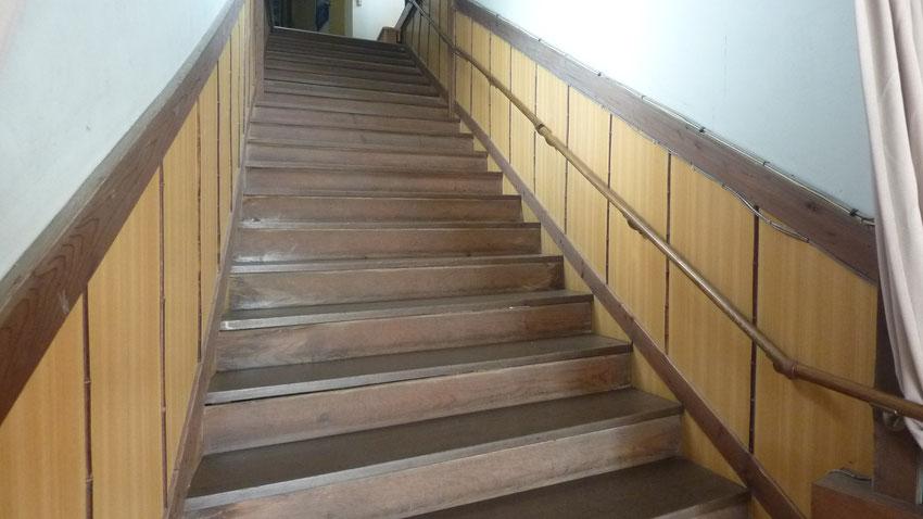 2階から3階への階段②