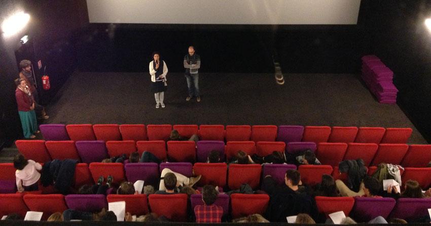 """PIC 2017-2018 : projection cinéma """"le blaireau, terrassier de la nuit"""""""