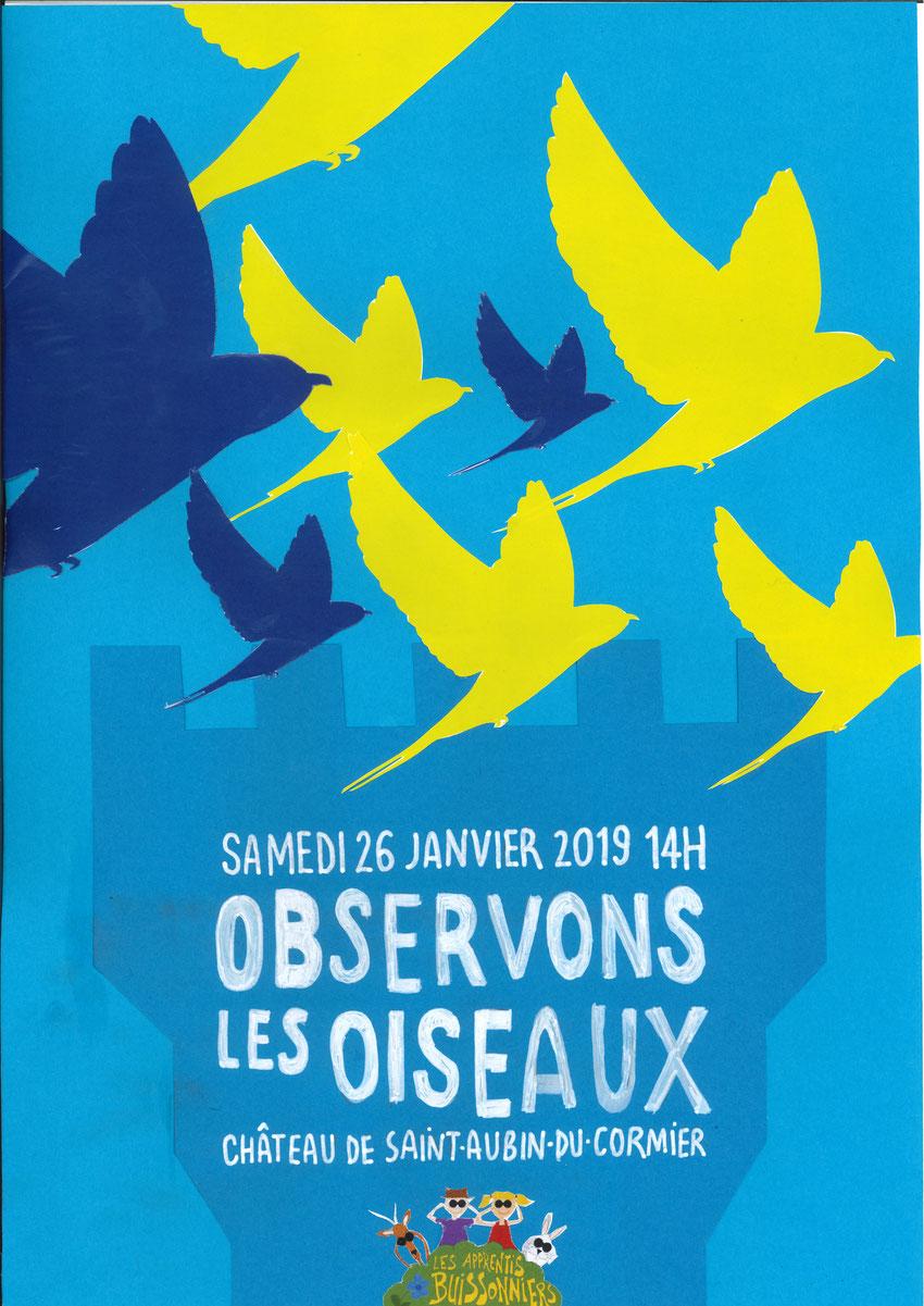 Affiche réalisée par l'intervenante, Nadine Grenier
