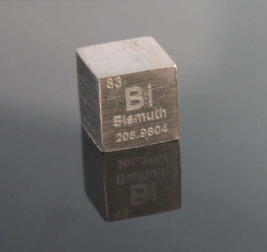 Bismut Dichtewürfel 1cm3  © Strategic Elements 2019