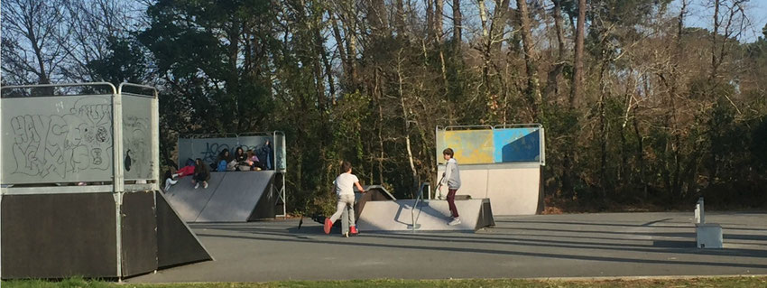 Le Teich - Bassin d'Arcachon - Skate Parc